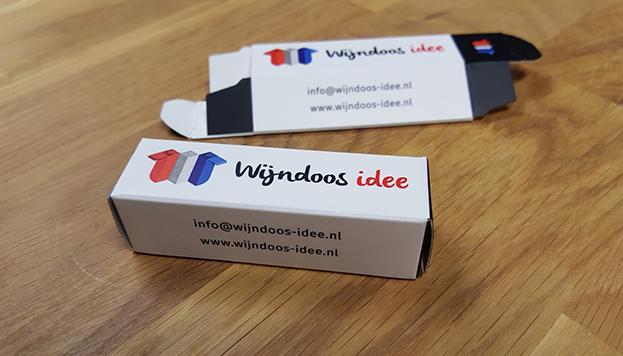 Visitekaartje Wijndoos-Idee