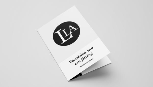 Servicekaarten voor lingeriewinkel Lydia Lingerie AdviesLydia Lingerie Advies