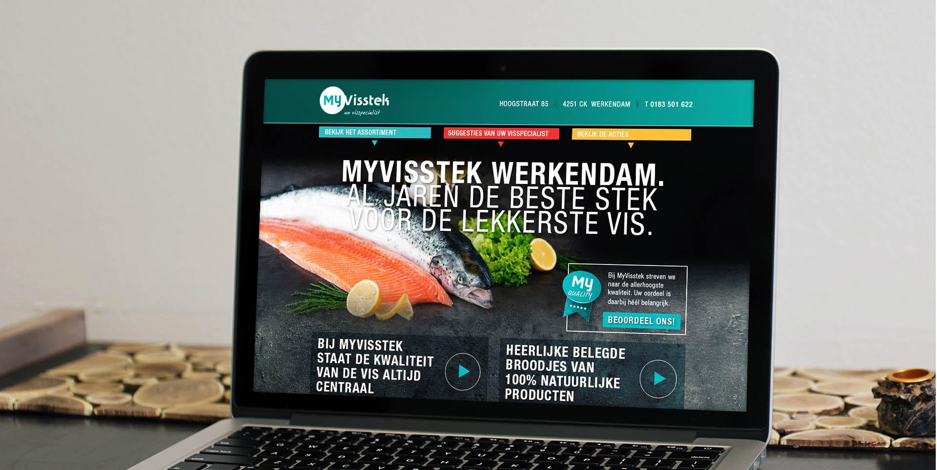 homepage website MyVisstek
