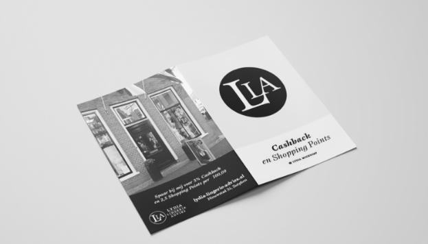 Servicekaarten voor lingeriewinkel Lydia Lingerie Advies