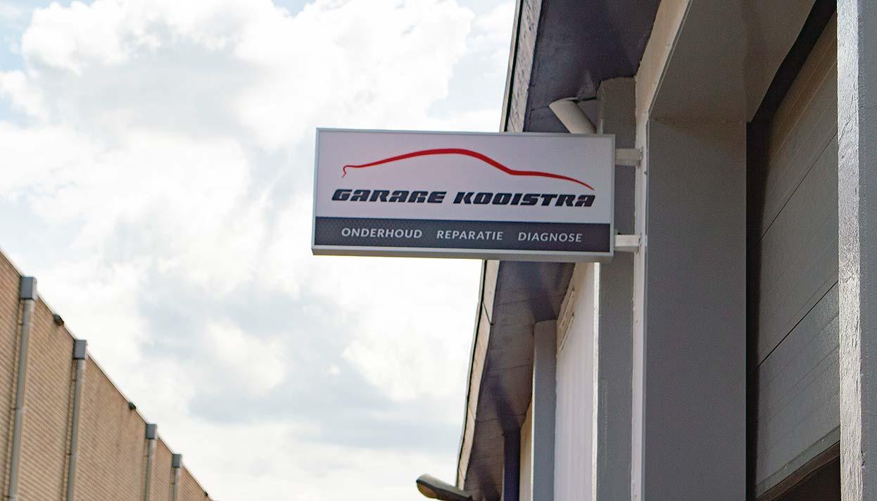 Garage Kooistra pand